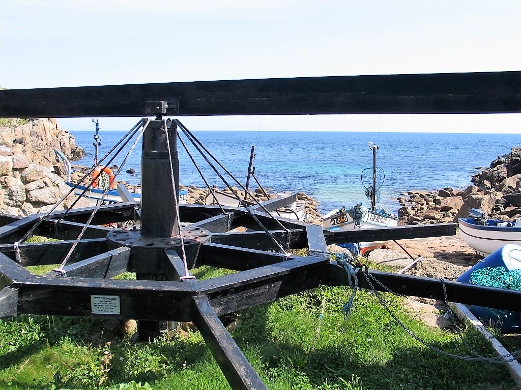 19th Century Capstan - Penberth Cove