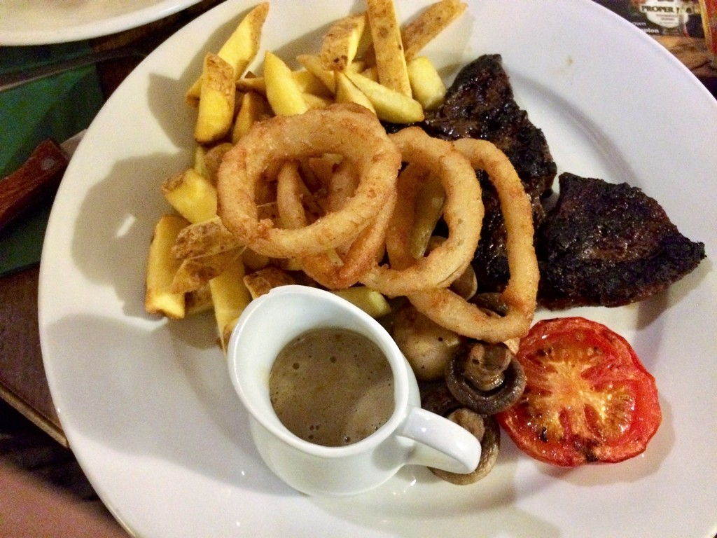 Reasonably priced Steak and chips - The White Hart