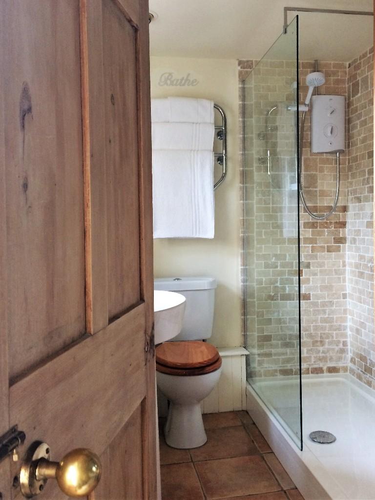 walk in shower - luxury B&B en sutie