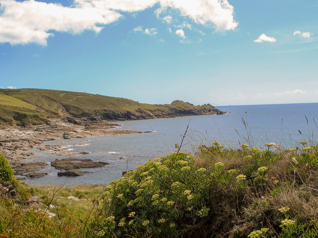 Cudden point - promontory, iron age fort -explore the coastal footpath walking