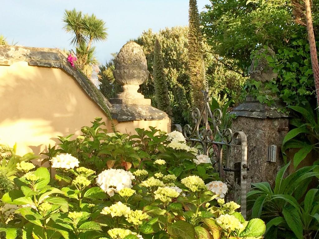 romantic garden gateway