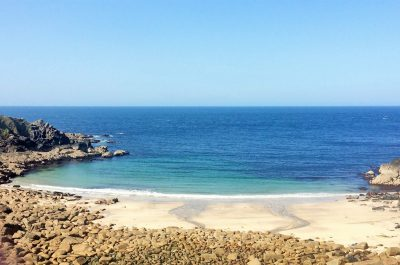 Porthmeor beach - explore west Cornwall to find secluded sands