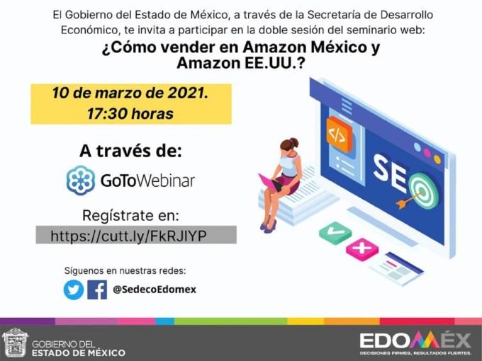 #GEM Y AMAZON CAPACITAN A MIPYMES MEXIQUENSES SOBRE VENTAS ELECTRÓNICAS. 8 ESTABLECIMIENTOS QUEBRANTAN SELLOS DE #COPRISEM; INTE... 4