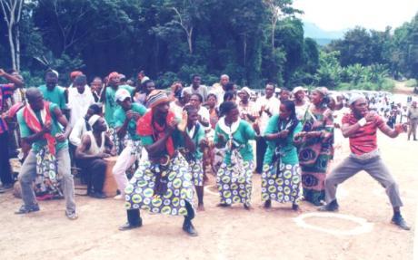 La danse des guerriers Ndjanti
