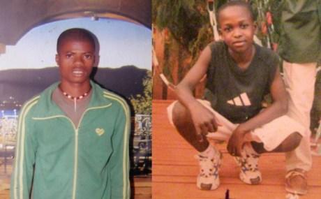 Mvogo Awono et Shimpe Poungou Zok, victimes