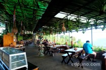 Open air restaurant at the Gazeebo