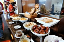Yummy breads at F All Day restaurant