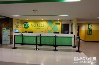 Go Hotels Dumaguete Reception area