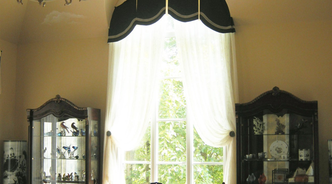 Valance for Arch Window 01