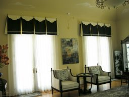 Valances with decorative overlay 05