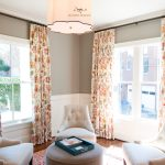 Floral Drapes in a Transitional Setting