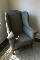 Custom upholstered armchair 02