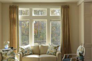 Living Room Silk Panels with European Pleats