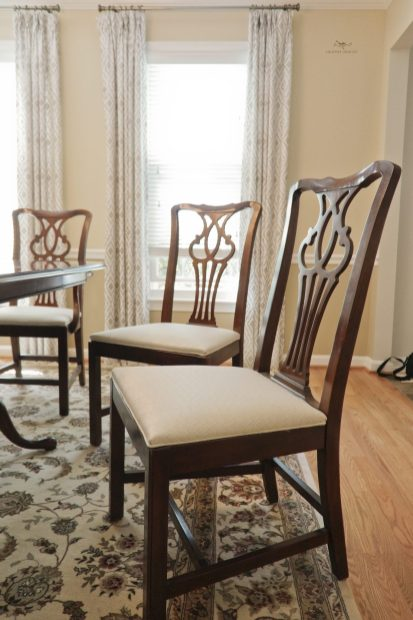 Re-upholstery Dining seats