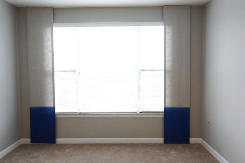 Flat Panels with Sheer Panels