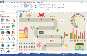 Diagramm erstellen  Diagramm Software für Mac