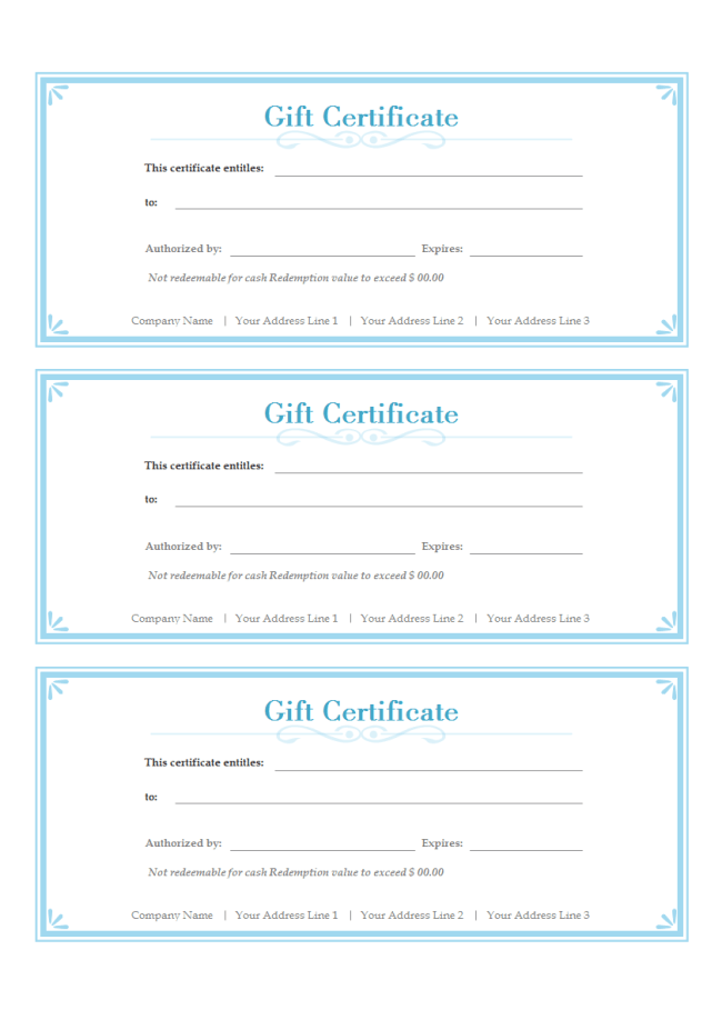 Search results for gift certificate template free mac for Gift certificate template for mac