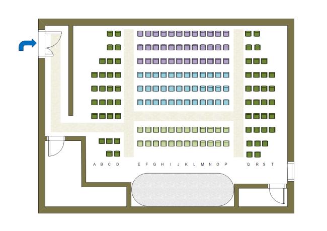 Free Theater Seat Plan Templates