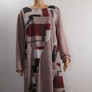 robe sweat imprimé géométrique e dressing des copines