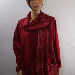 tunique + foulard grande taille