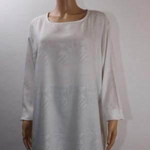 robe décontractée blanche e dressing des copines