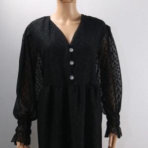 robe bouton diamand e dressing des copines