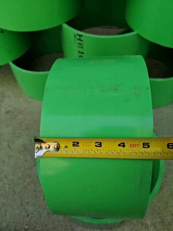 "Massive Drift Trike Sleeves 1//2/"" x 10""Diameter x 3.5"" Wide SUPER THICK!! PVC"
