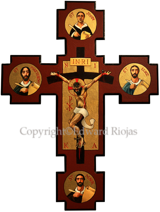 """Gospel Crucifix"""