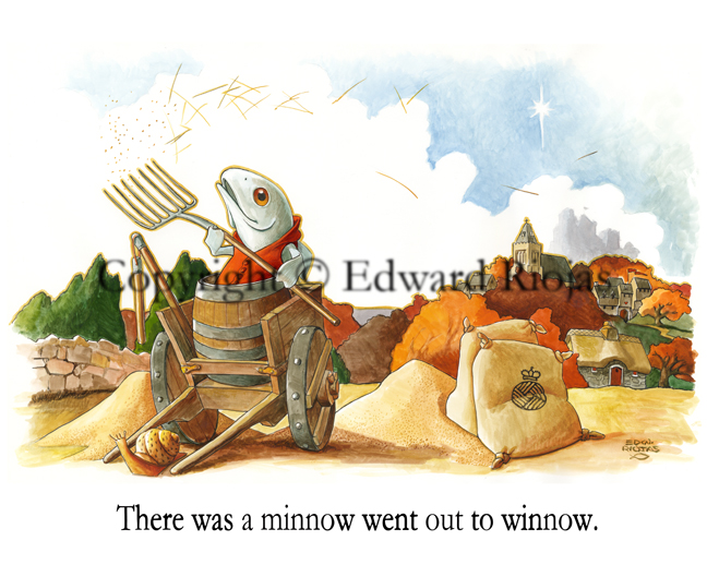 """""""There was a Minnow"""" horizontal"""