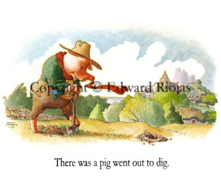 """""""There was a Pig"""" horizontal"""