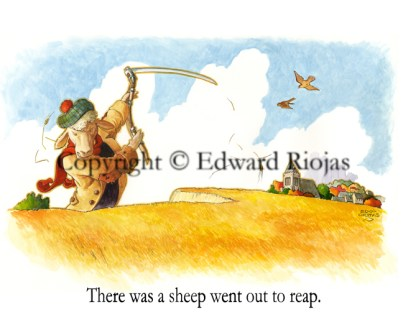 """""""There was a Sheep"""" horizontal"""