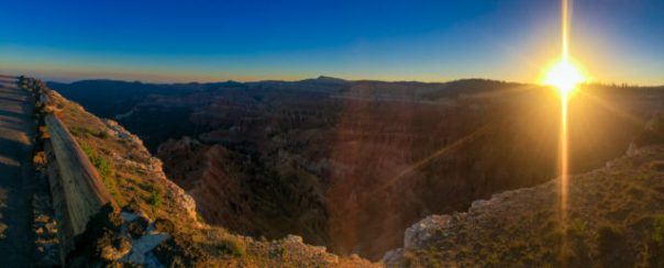 Sunrise at Point Supreme, iPhone Panorama