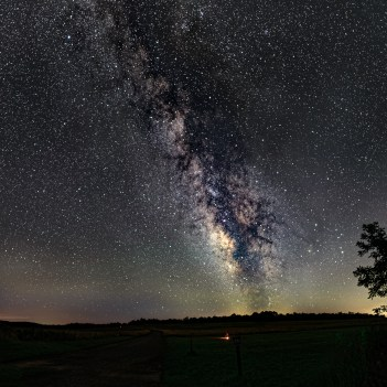 Big Meadows Milky Way