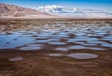 Desert rain water - Death Valley