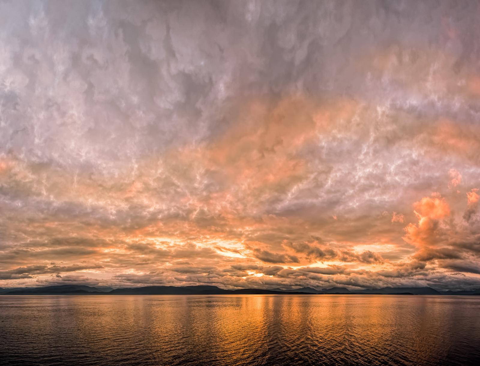 Glacier Bay Sunrise