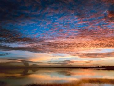 Sunrise over Lake Jessup