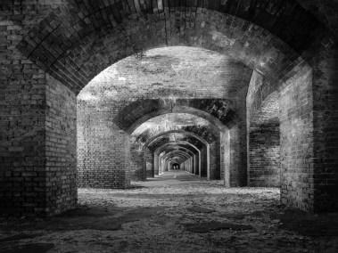 Fort Jefferson Interior: Dry Tortugas