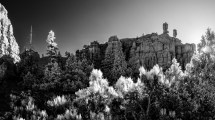 Hoodoos watch the sun rise: Utah