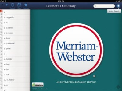 Merriam-Webster's Learner's Dictionary Reviews   edshelf