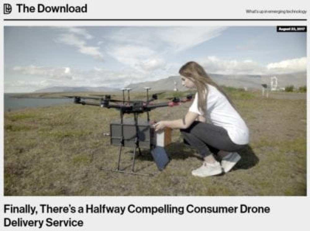 Consumer Drone Delivery Service