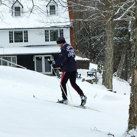 Edson Hill Skiing - Stowe, Vermont