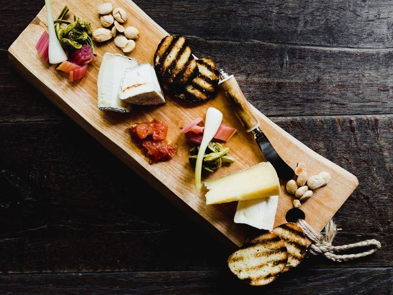 Dining at Edson Hill - Cheese Board