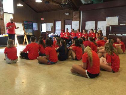 The Freshman Year Retreat 2016