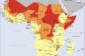 Security-based political map of Africa