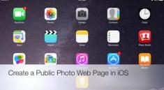 Photo Web Page iOS EdTechChris
