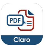 Claro PDF Lite EdTechChris.com Useful Accessibility iOS Apps