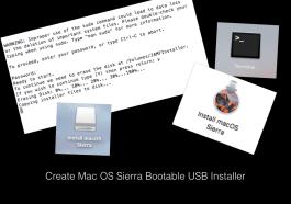 Mac OS Sierra bootable installer Apple MacBook EdTechChris.com