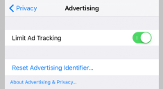 Turn Off Ad Tracking