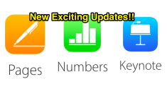 pages keynote numbers apple update edtech