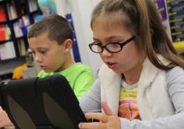 child iPad iOS accessibility edtech education